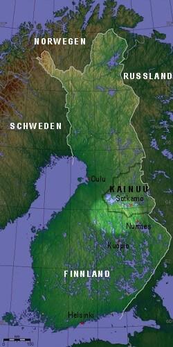 Einflussbereich der Gemeinde Ukonjärvi