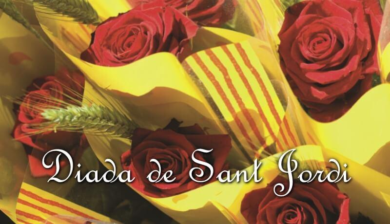 Diada de Sant Jordi und Weltbuchtag